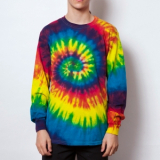 Rainbow & Spider Long Sleeve Tee